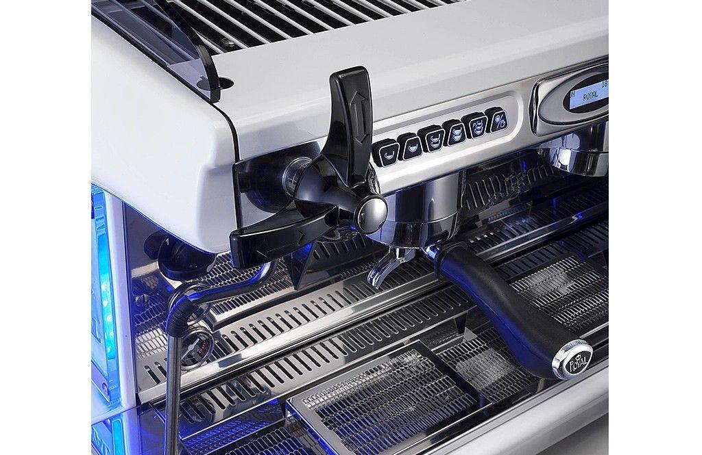 Hệ thống cần gạt Khay Máy pha cà phê Royal SYNCHRO T2 - 2Group