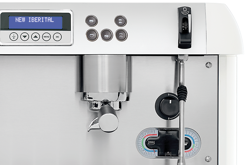 Hệ thống Nút điều khiển Máy pha cafe Iberital NEW IBERITAL