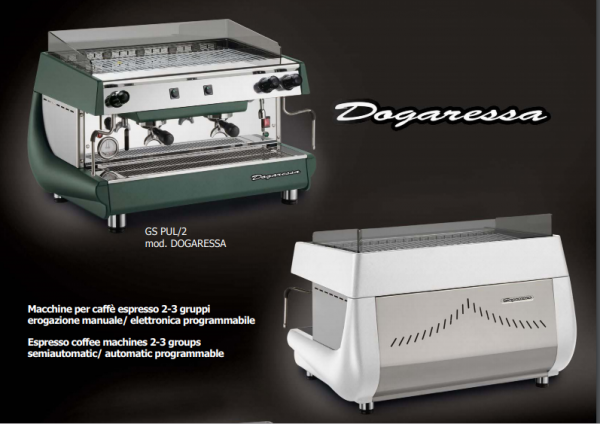 Hệ thống Máy pha cà phê Royal DOGARESSA – Electronic – 2Group chuyên nghiệp