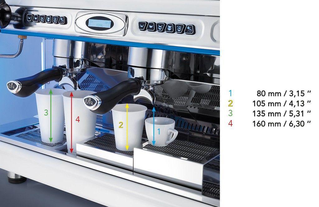 Khay Máy pha cà phê Royal SYNCHRO T2 - 2Group