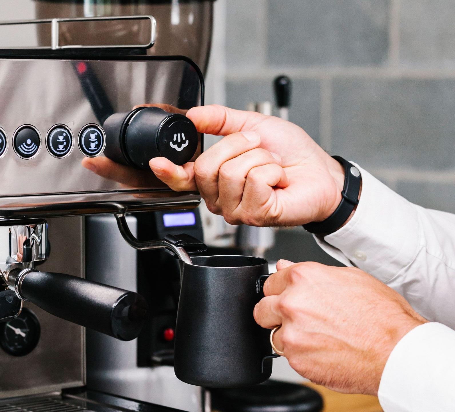 Núm điều chỉnh máy pha cà phê chuyên nghiệp Iberatal IB7 Group2