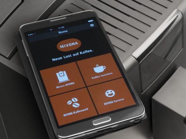 Tích hợp Bluetooth Máy pha cafe tự dộng NIVONA 759