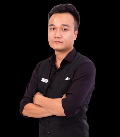 Chân dung giảng viên đào tạo pha chế Trung Kiếm VNBS Hà Nội