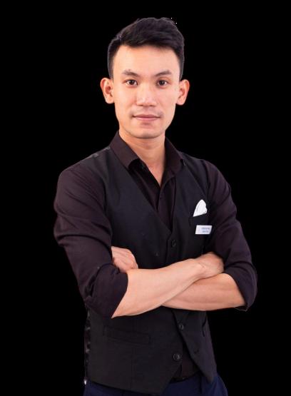 Giảng viên đào tạo pha chế Minh Dương VNBS Hà Nội
