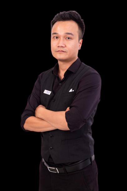 Giảng viên đào tạo pha chế Trung Kiếm VNBS Hà Nội