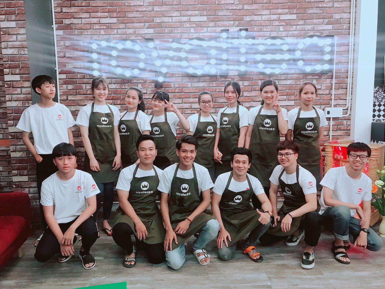 Hồ Sơ Setup Quán Trà Sữa Royal Tea Tam Kỳ, Quảng Nam