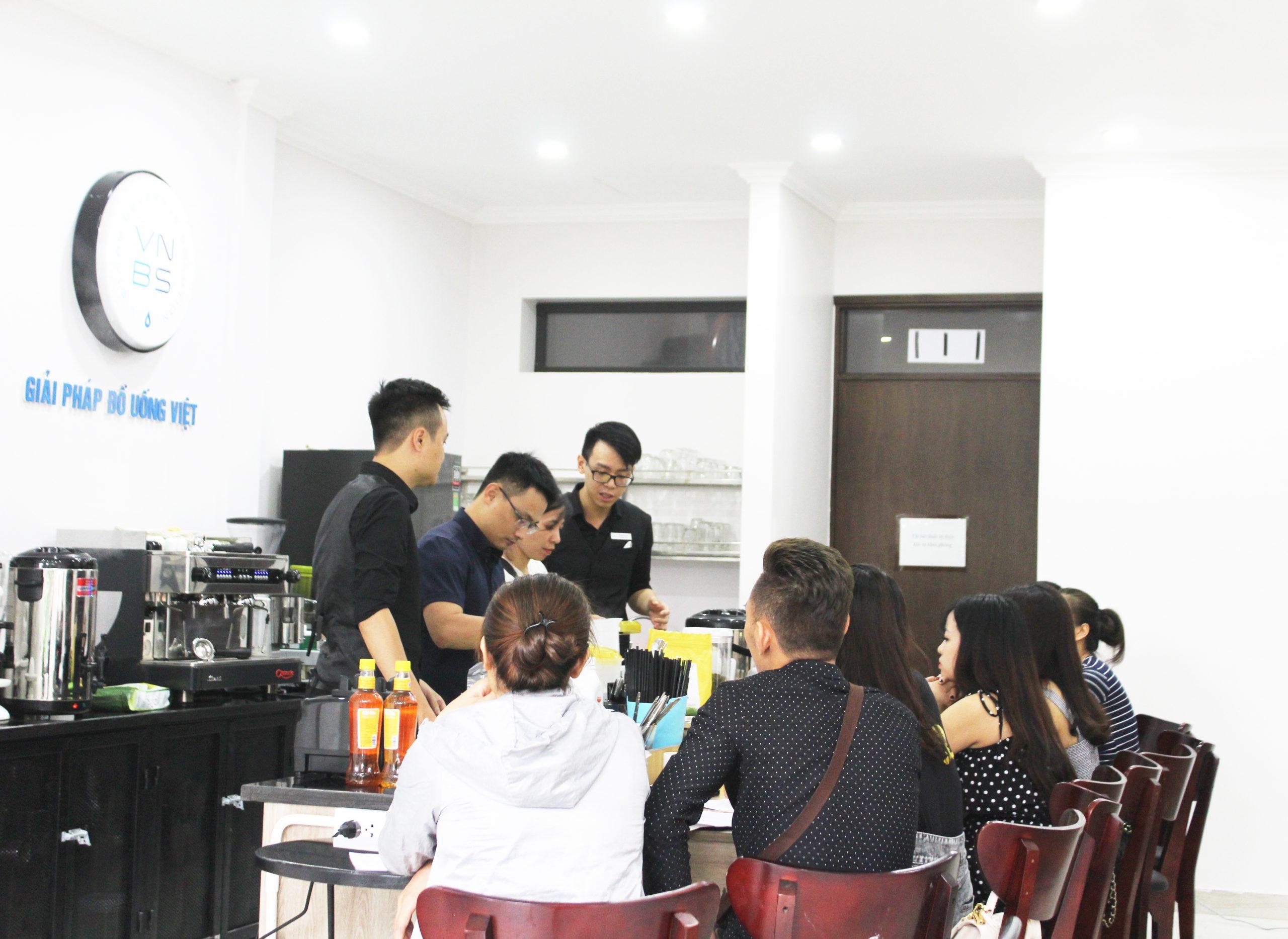 Khoá học đào tạo pha chế trà sữa chuẩn Đài Loan