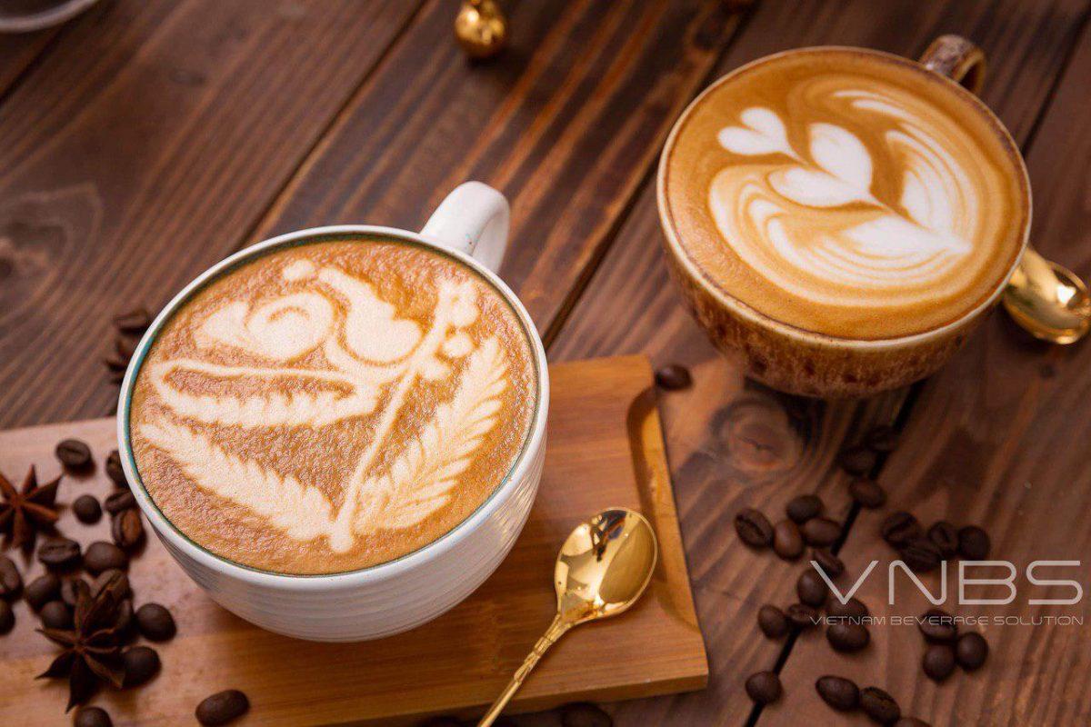 Khoá học pha chế cà phê máy tại VNBS Hà Nội