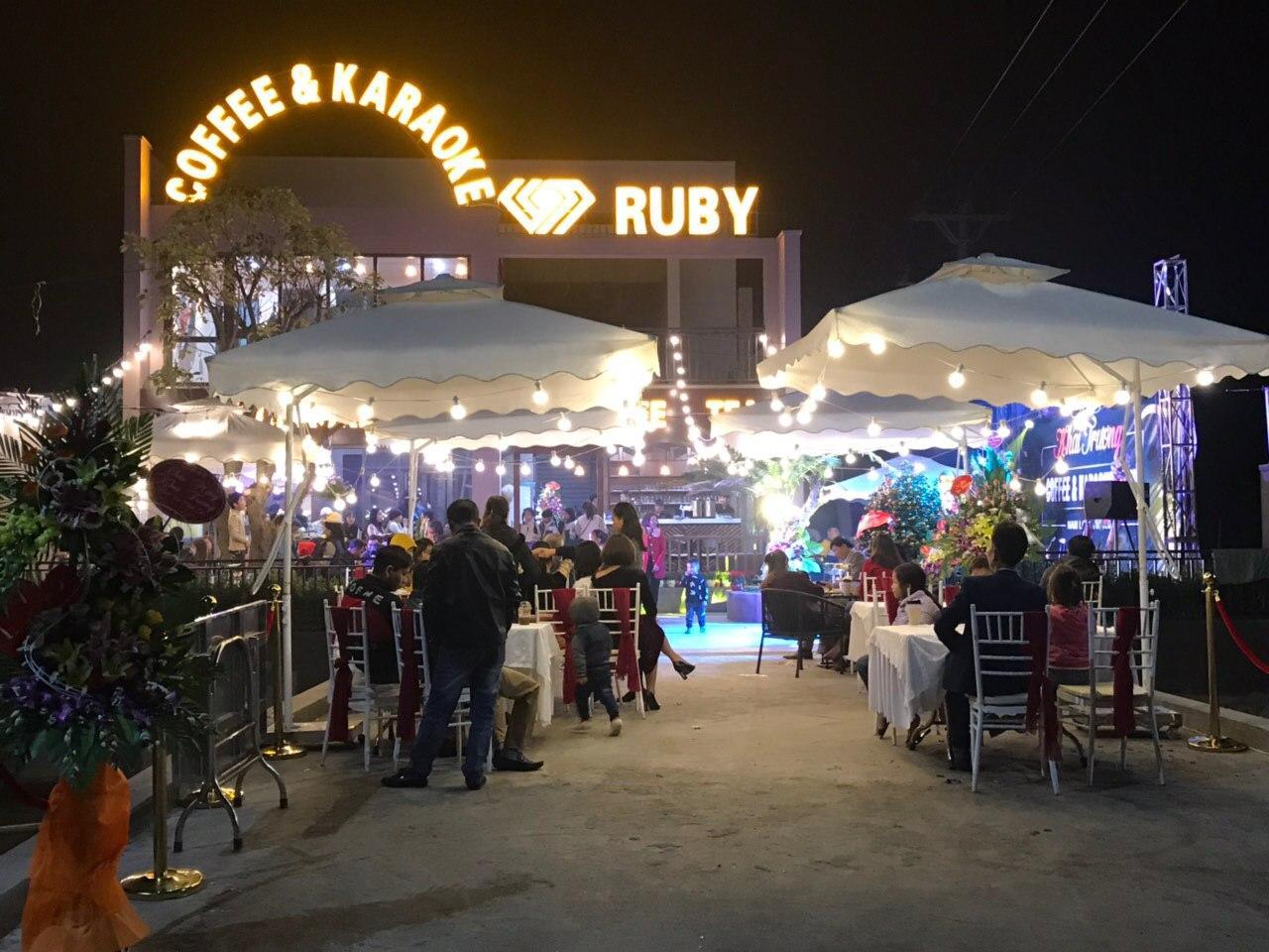 Ruby Quán Cafe & Karaoke Nam Trực Nam Định