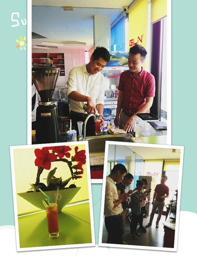 Dự án Hồ sơ setup chuỗi cà phê GLN Coffee Hà Nội tại VNBS