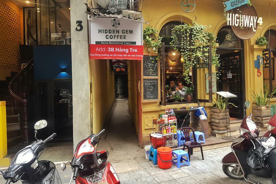 Dự án Hồ sơ setup quán cà phê Hidden Gem tại VNBS
