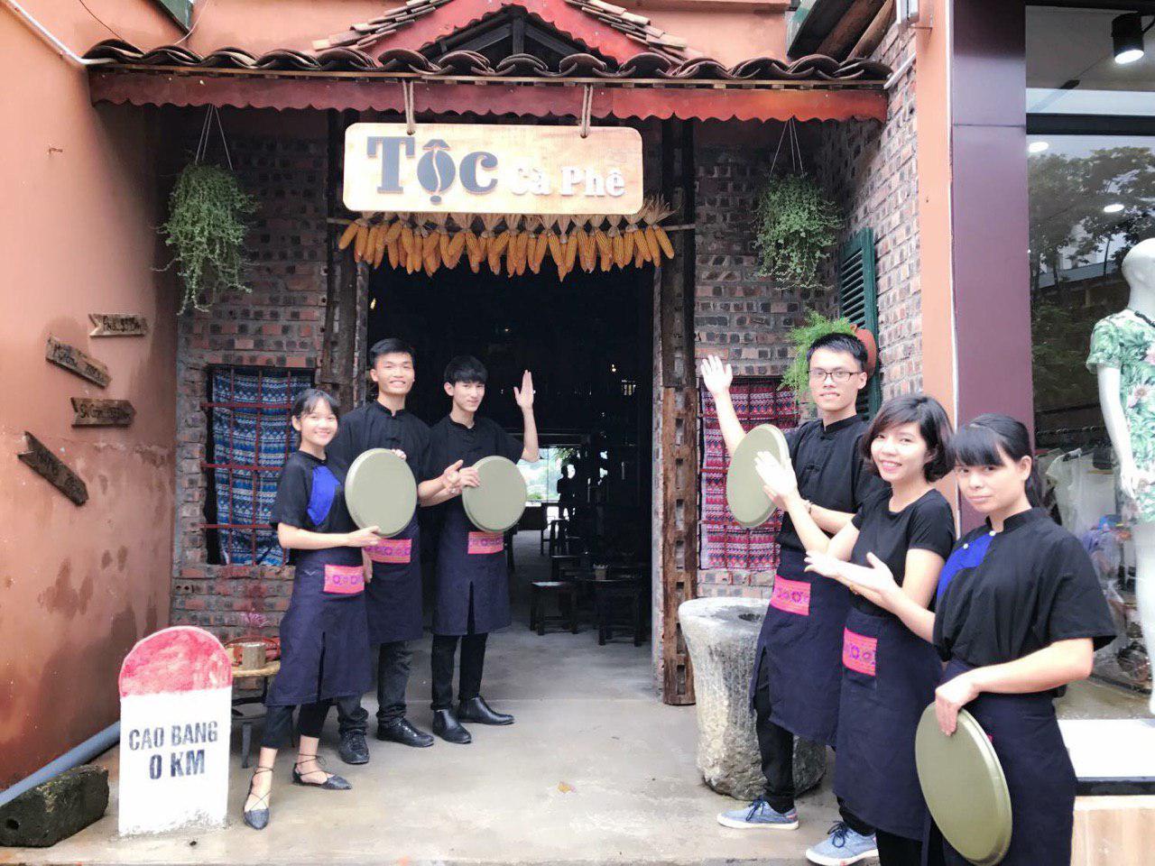Hồ sơ tư vấn setup quán cà phê Tộc cà phê tại VNBS