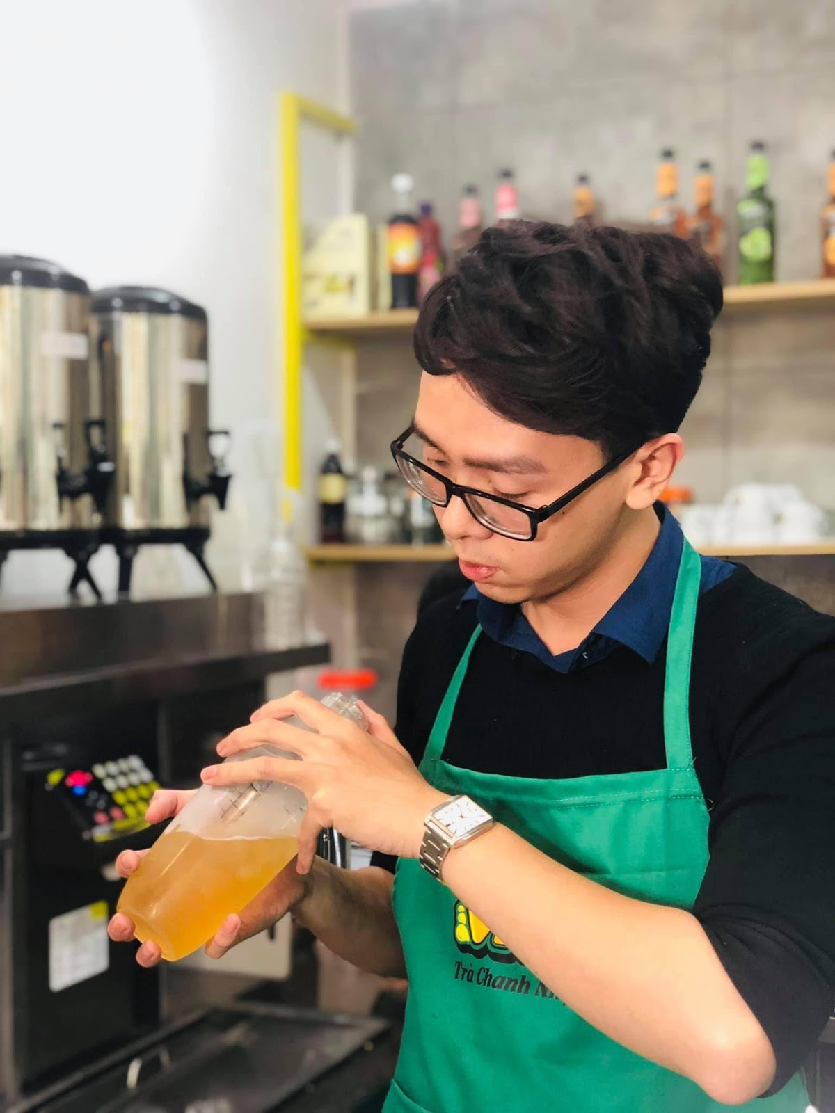 Theo thống kê chất lượng đồ uống quán trà chanh & sẽ chiếm từ 30-35% thành công của 1 quán